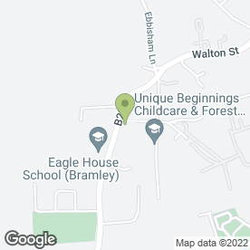 Map of Chequers Lane Garage in Tadworth, surrey