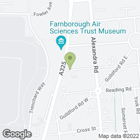 Map of Barry Flodman in Farnborough, hampshire