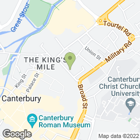 Map of Sound Interiors (Kent) Ltd in Canterbury, kent