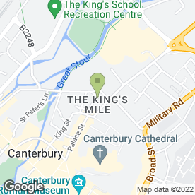 Map of The Parrot in Canterbury, kent