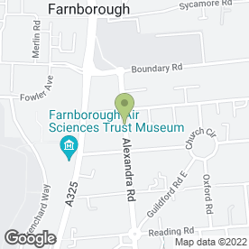 Map of Wavefront Photography in Farnborough, hampshire