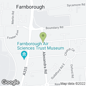 Map of Pumpkin Patch Day Nursery in Farnborough, hampshire