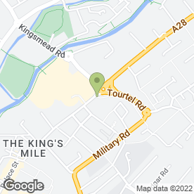 Map of Enterprise Rent-A-Car in Canterbury, kent