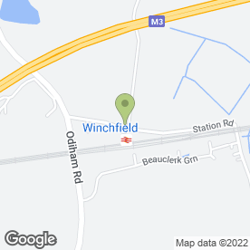 Map of Footprint Taxis in Winchfield, Hook, hampshire