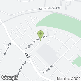 Map of Allington Post Office in Maidstone, kent