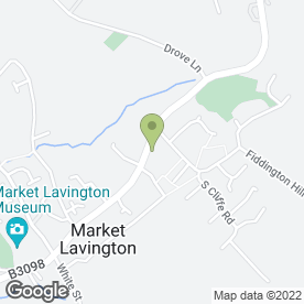 Map of Drs Sandford-Hill, Koftelnik & Kay in Market Lavington, Devizes, wiltshire