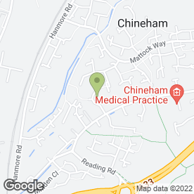 Map of Berkshire Pressure Cleaning in Chineham, Basingstoke, hampshire