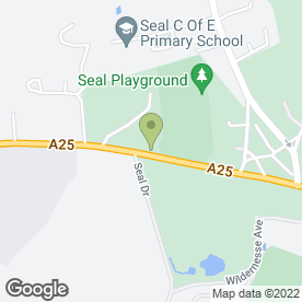 Map of F.B.S.S Ltd in Seal, Sevenoaks, kent