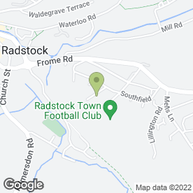 Map of A F Denning Ltd in Radstock, avon