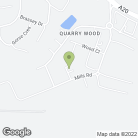 Map of Britannia MOT & Repair Centre in Quarry Wood, Aylesford, kent