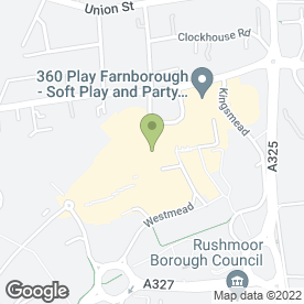 Map of New Vision Enterprises Ltd in Farnborough, hampshire