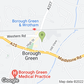 Map of Independent Flooring Specialist in Borough Green, Sevenoaks, kent