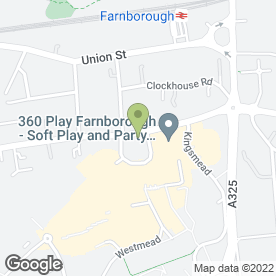 Map of Wheelers LLP in Farnborough, hampshire