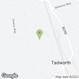 Map of SEAN O'GRADY CARS in Tadworth