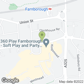 Map of DAVIES, BLUNDEN & EVANS in Farnborough, hampshire