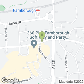 Map of The Tilly Shilling in Farnborough, hampshire
