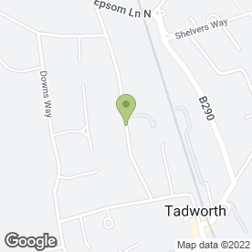 Map of SEAN O'GRADY CARS in Tadworth, surrey