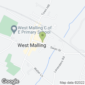 Map of West Malling Fantastic Cleaners in West Malling, kent
