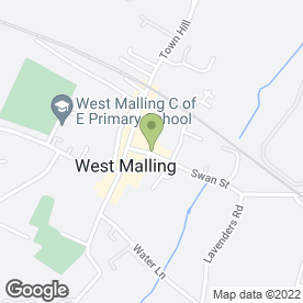 Map of The Swan in West Malling, kent