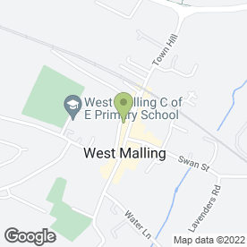 Map of K2 Flooring in West Malling, kent