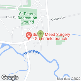 Map of Foundations Community Pre-School Ltd in Old Woking, Woking, surrey