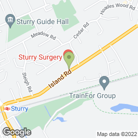 Map of Drs Molony, Stillman & Partners in Sturry, Canterbury, kent