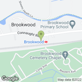 Map of Ambar Taxis Woking in Brookwood, Woking, surrey