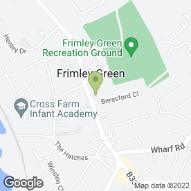 Map of BMH (Heating) Ltd in Frimley Green, Camberley, surrey