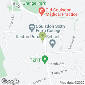 Map of Costcutter in Coulsdon, surrey