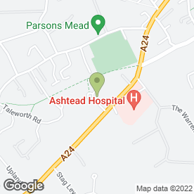 Map of Chancellors Associates in Ashtead, surrey