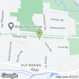 Map of L & W Property Maintenance in Woking, surrey