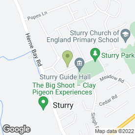 Map of A P Flooring in Sturry, Canterbury, kent