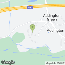 Map of The Seekers Trust in Addington, West Malling, kent