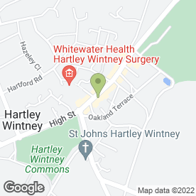 Map of Hartley Antiques in Hartley Wintney, Hook, hampshire