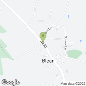 Map of Amadis Bed And Breakfast in Canterbury, kent