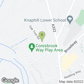 Map of Auto Air Parts in Knaphill, Woking, surrey