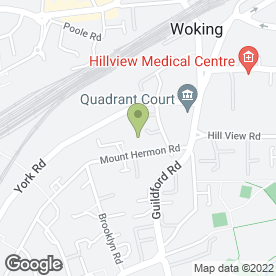 Map of CR Garden Services in Woking, surrey