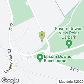 Map of Epsom Racing Staff Welfare in Epsom, surrey