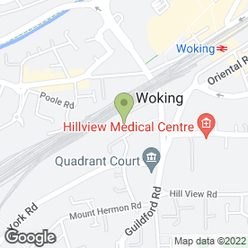 Map of Day Aggregates in Woking, surrey