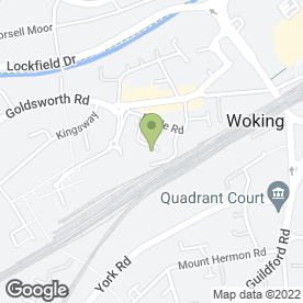 Map of Motorcare (Woking) Ltd in Woking, surrey