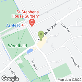 Map of Volkspeed Car Sales in Ashtead, surrey