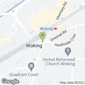 Map of Charlie Choys in Woking, surrey