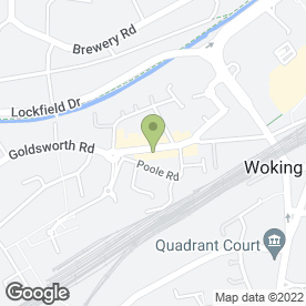 Map of In-Toto Kitchens in Woking, surrey
