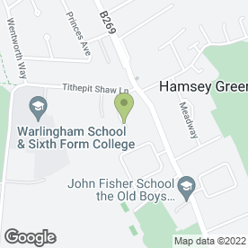 Map of Pro Lifting Services Ltd in Warlingham, surrey
