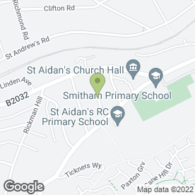 Map of MAH Accountancy Services in Coulsdon, surrey