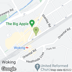 Map of China Dragon in Woking, surrey