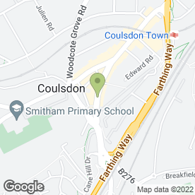 Map of Allied Pool & Snooker in Coulsdon, surrey
