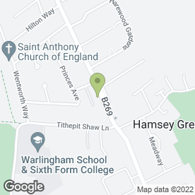 Map of BLOSSOM HOUSE in South Croydon, surrey