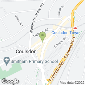 Map of Expresscopy in Coulsdon, surrey