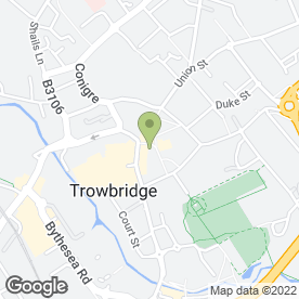 Map of Timpson Locksmith & Safe Engineers in Trowbridge, wiltshire